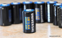Universal Power Group 3.6V UB 1/2 AA Lithium Battery Cell 500 mAh C-3190-01 Used with Wireless Panic Pendants, Buttons, Alarm Transmitter and many other Sensors 