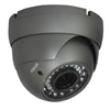 850TVL Pixel Plus Indoor Dome Camera, 4-9mm Lens, DC 12V, Black