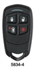 Honeywell Ademco HW-5834-4 Four-Button Wireless Key Remote