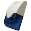 ATW Security Doberman Indoor/Outdoor Siren & Strobe Combination -Blue Low Voltage Security