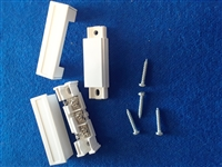 Quick Switch QS-909MA-C Surface Mount Home Alarm Magnetic Reed Switch Contact (Open & Closed Loop, Form C, Terminals)