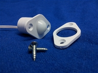 "3/4"" Recessed Roller Plunger with Wire Leads - Closed Loop"