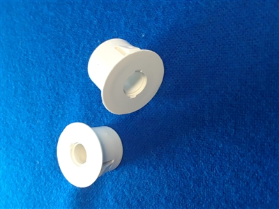 "Recessed Adapter, 1"" Diameter, 3/8"" Hole, White PA-75-W  GI-PA-75-W G.R.I. GRI GRISK Home Intrusion Contact Contact Accessories"