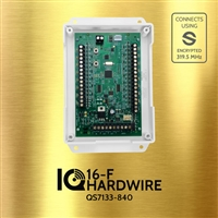 Qolsys QS7133-840 IQ Hardwire 16-F - Encrypted Wire-to-Wireless Converter Compatible with Qolsys IQ & amp Q Panel 2  IQ Hard Wire to Wireless Translator 16-F S-Line