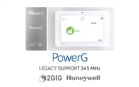 Qolsys IQ Panel 2 Plus PowerG (Verizon LTE, 345 MHz, 2GIG/Honeywell Compatible) (QS9201-5208-840)