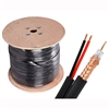RG59 18/2 Siamese Cable Spool (1000 ft., Copper Conductor)