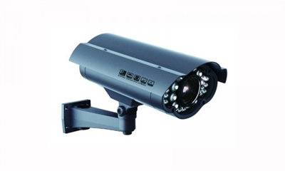 700TVL Vari-Focal Bullet Camera, 5-50mm, 260ft IR, Dual-Volt, Outdoor