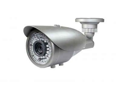 720P HD-CVI Vari-Focal Lens 2.8-12mm Bullet Camera (Grey) 200FT Night Vision