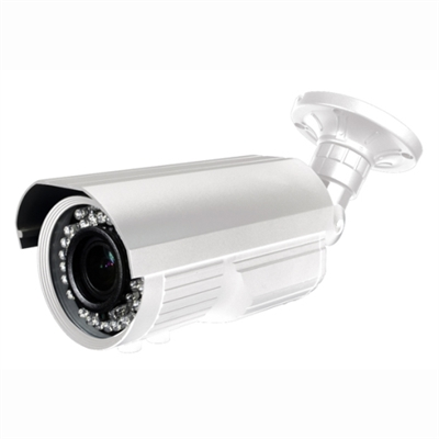 720P HD-CVI Vari-Focal Lens 2.8-12mm Bullet Camera (White)