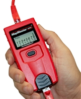 Platinum Tools T109C MapMaster mini Pocket Tester, Detects Shorts, Opens, Miswires, Reversals, and Split-Pairs Built-in Tone Generator Tests Voice (6 wire), Data (8 wire) and video (coax) extra large 7-segment LCD screen with large icons