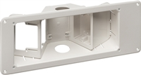 "Three-Gang Recessed TV Boxâ""¢ w/ Angled Openings"