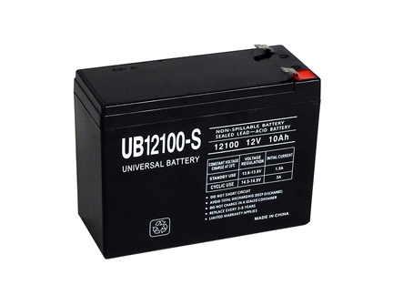 Upg Ub12100 S Battery Sealed Lead Acid 12 Volt 10 Ah