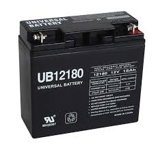 UPG UB12180 Battery - Sealed Lead Acid - 12 Volt - 18 Ah