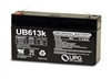 UPG UB613 Battery Sealed Lead Acid 6 Volt 1.3Ah