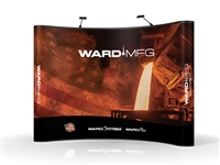 WARD Mfg Fittings & Flex Pop-Up Tradeshow Booth ---- 10' x 10'