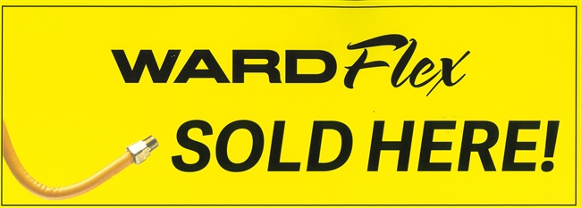 WardFlex Sold Here Window Cling