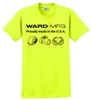 Ward Manufacturing Safety Green Shirts