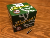 22 LR 40gr Remington Thunderbolt HVRN - 500 rounds