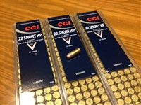 22 Short CCI 27gr HP - 500 rounds