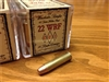 22 WRF 45gr HP vintage rifle ammo - 100 rounds