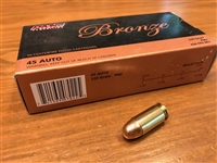 45 ACP 230gr PMC Ammunition -- 50 Rounds