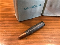 7.62x45 131gr FMJ Czech milsurp - 15 rounds