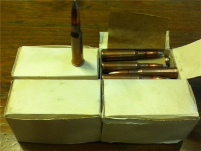 7.62x54r Bulgarian Surplus Ammunition - 80 rounds