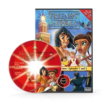 Friends and Heroes Episodes 1 & 2 DVD 10 languages