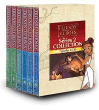 Friends and Heroes DVD Series 2 Pack Multi-Language