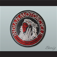 Set of 5 Indian Motorcycle Circle Patches