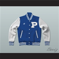 Al Bundy Polk High School Blue Varsity Letterman Jacket-Style Sweatshirt Married With Children