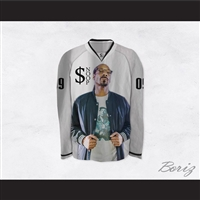 $noop Dogg 09 White Hockey Jersey