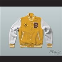 Bel-Air Academy Football Varsity Letterman Jacket-Style Sweatshirt The Fresh Prince of Bel-Air