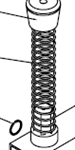 Large Tension Spring Part nbr 0227