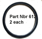 Y Ring Part Nbr 612 set of 2