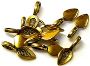 15pc gold plated large bails