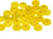 10gm swirl rondelles 8mm yellow mix
