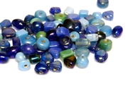 10gm luster beadmix assortment blue