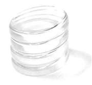 20pc glass piece pack 25mm round