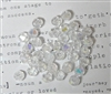 20pc crystal bicones Clear AB 4mm