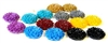 25mm resin cabochons flower multipack 18pc