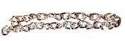 Antique Silver Twist Chain 4mm 1M Length