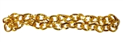 Antique Gold Twist Chain 4mm 1M Length