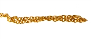 Antique Gold Fine Cable Chain 2mm 2M Length