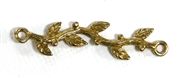 1pc connector vine antique gold 35x8mm