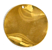 1pc antique gold wave gold charms 26mm