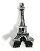 1pc antique silver Eiffel Tower Paris Pendant 50x23mm
