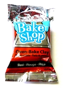 57g bake shop clay red