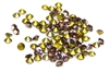 60pc 2 mm rhinestone point back crystals amethyst