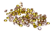 60pc 2 mm rhinestone point back crystals pink
